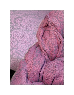 Май-слинг Ellevill Paisley Silver-Pink / Paisley Silver-Pink