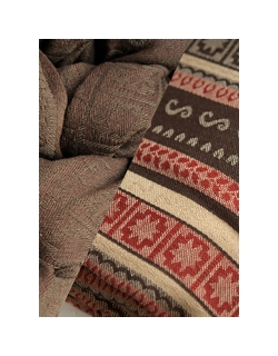 Май-слинг Ellevill Zara Coffee/ Zara Tricolor Indian