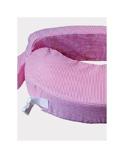 """Подушка для кормления """"Розовые полосы"""""""