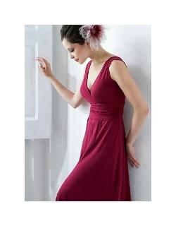 """Платье Mothers en Vogue """"Sophia"""", цвет винный"""