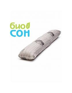 """Подушка для беременных  БиоСон """"I"""", цвет Узор - цветы 2"""