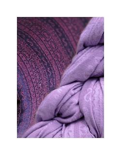 Май-слинг Ellevill Jade Plum/ Zara Lavender