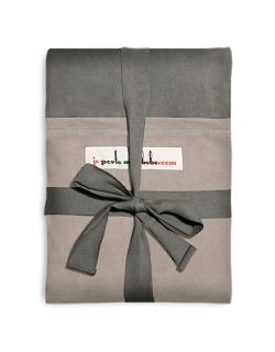 """Слинг-шарф JPMBB трикотажный, цвет """"серый-светло-серый"""""""