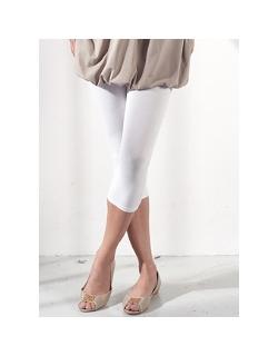 Леггинсы для беременных и кормящих Mothers en Vogue капри, цвет белый