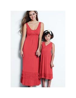 """Платье Mothers en Vogue """"Havanna Maxi"""", цвет коралловый"""