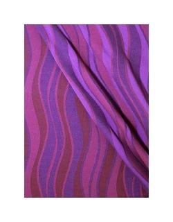Слинг c кольцами Didymos, Waves Holunder (фиолетовые волны)