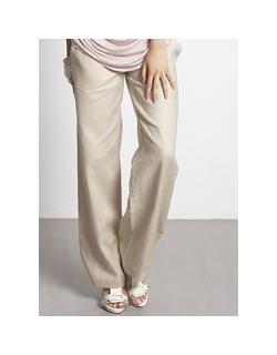 Брюки для беременных и кормящих Mothers en Vogue Weekender Pants, цвет светлый хаки
