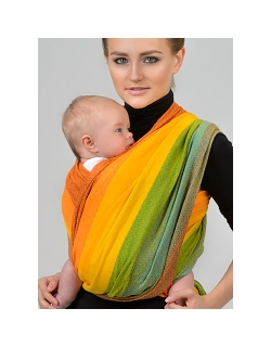 Слинги-шарфы с диагональным плетением